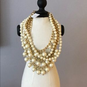 Kate Spade, brand new, never worn pearl necklace